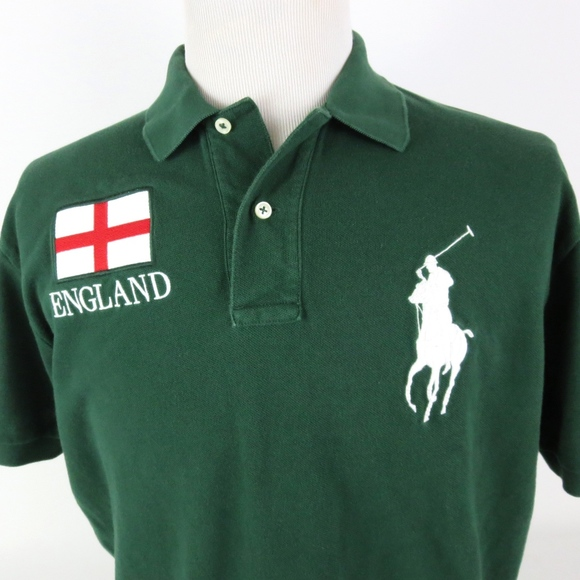 Polo by Ralph Lauren Other - Polo Ralph Lauren Large Shirt England Big Pony